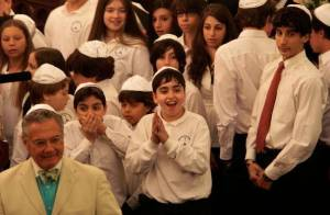 Pope Benedict XVI Visits New York City Synagogue