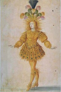 Ludvík XIV. jakožto Apollón