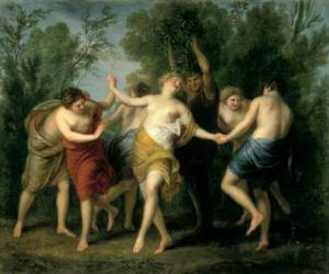 Tanz der Mänaden, autor Lenz Cornelis