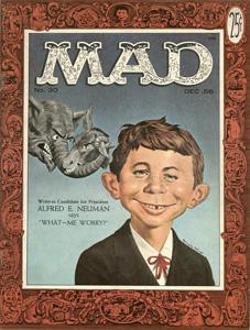 Alfred E. Newman - maskot časopisu Mad